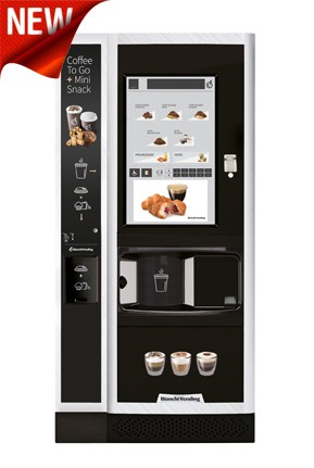 Distributore caffè LEI700 Plus 2 Cups Touch